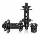 Industry 9 1/1 Boost ISO 6 Bolt Disc Black (32 Hole)
