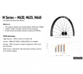 ENVE M630/Chris King MTB Wheelset