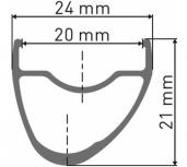 DT Swiss RR 421 Asymmetric Disc